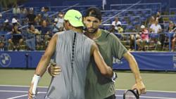 Nadal And Dimitrov Square Off In Washington Practice