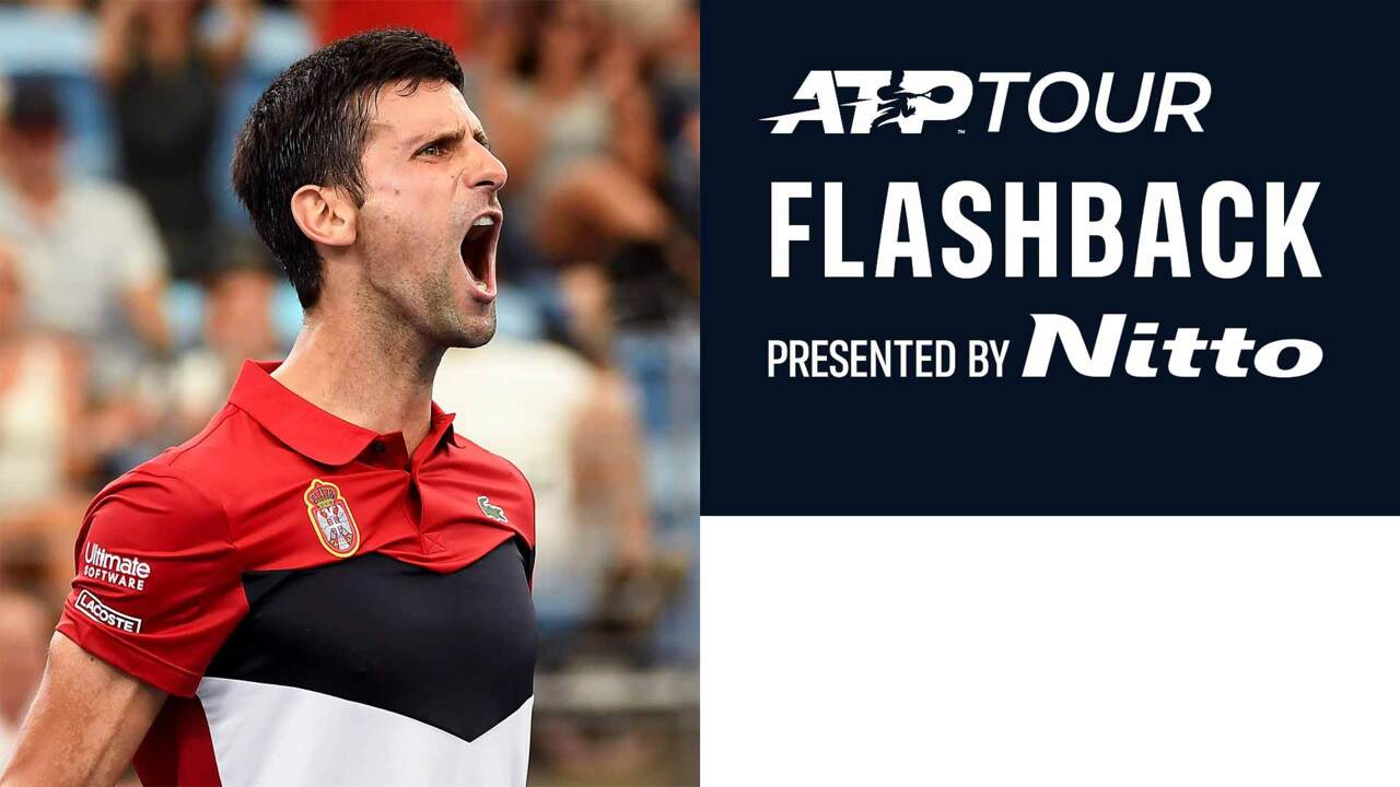 ATP Tour Flashback Presented By Nitto: Djokovic Outlasts Shapovalov At ATP Cup