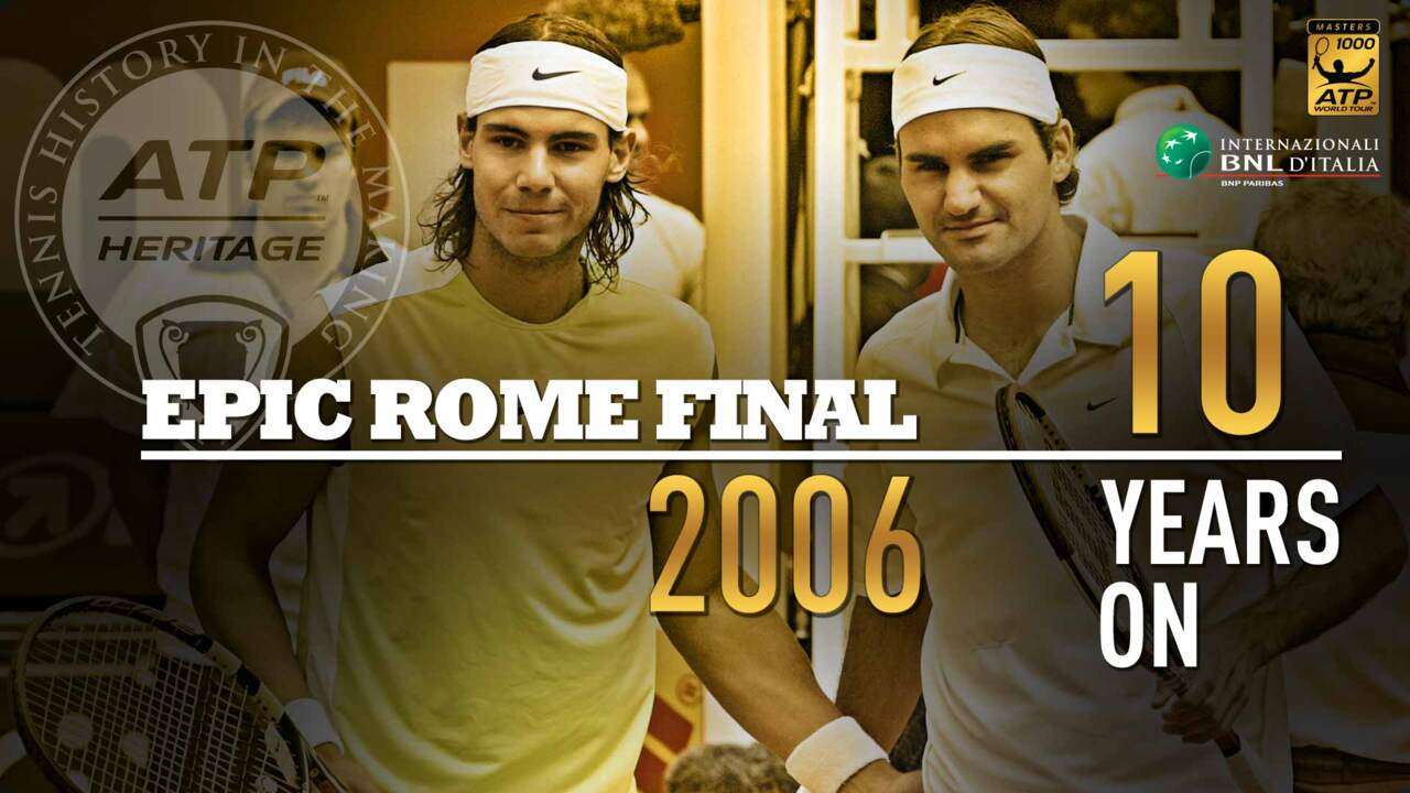 Rafa vs. Roger, The Match That Cemented Their Rivalry | ATP Tour ...