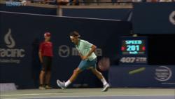 Hot Shot: Una Fantasía De Federer En Toronto