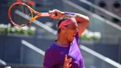 Hot Shot: Nadal Sorprende A Zverev Con Un Drop En Madrid