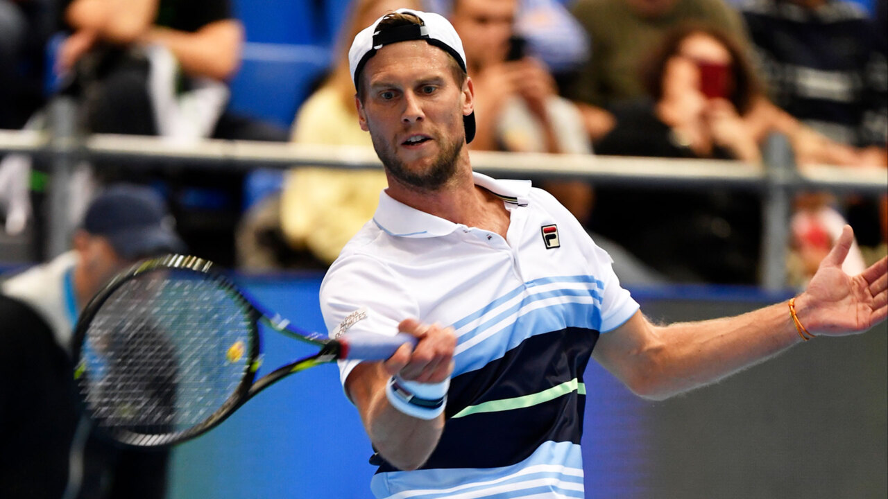Hot Shot: Outrageous! Seppi Rips Passing Shot Past Khachanov In Moscow