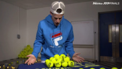Schwartzman's Pyramid Challenge: 'My Hands Are Shaking'