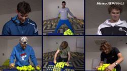 Who Won The Nitto ATP Finals Pyramid Challenge?