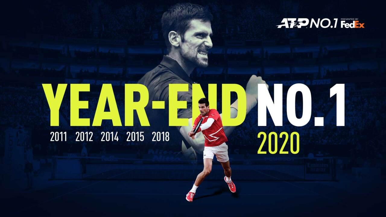 Al Descubierto: Djokovic Iguala El Récord Como No. 1 A Final De Año