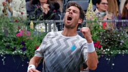 Hot Shot: Norrie Clinches First Set With Winner