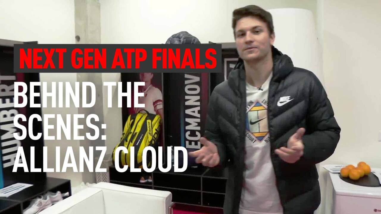 Flashback: Kecmanovic Takes You Behind The Scenes At The Next Gen ATP Finals 2019
