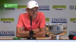 De Minaur Reflects On Maiden Challenger Title In Nottingham
