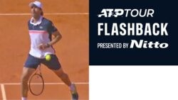 ATP Tour Flashback Presented By Nitto: Cuevas' Incredible No-Look Tweener In Estoril