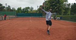 Watch Shapovalov & Dimitrov Practise In Geneva