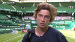 Rublev On Khachanov Win: 'I Was Waiting To Feel This Tension'