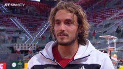 Tsitsipas: 'There's Plenty That I Can Learn' In Madrid