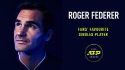 Federer Vuelve A Ser El Favorito De Los Fans En Los Premios ATP