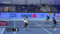 Doubles Hot Shot: Ram Carves Ridiculous Drop Volley In Vienna
