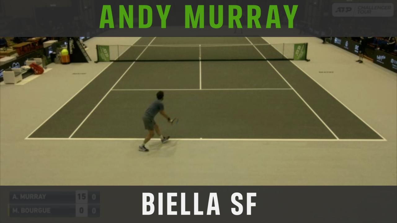Highlights: Murray Reaches Biella Final