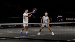 ¡Dúo De Lujo! Mira La Práctica De Dobles De Federer & Nadal