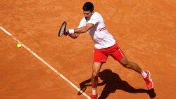 Hot Shot: Djokovic Unleashes Backhand Power In Rome