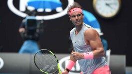 Watch Highlights: Nadal Survives Schwartzman Test In Melbourne 2018
