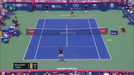 Hot Shot: La Gran Willy De Thiem En Montreal 2019