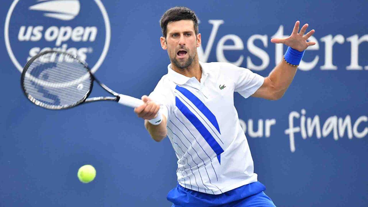 Hot Shot: Djokovic Responde Con Magia Un Gran Golpe De Raonic