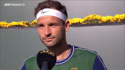 Dimitrov Reflects On Medvedev Upset In Indian Wells