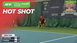 Hot Shots: Pospisil On Fire In Charlottesville