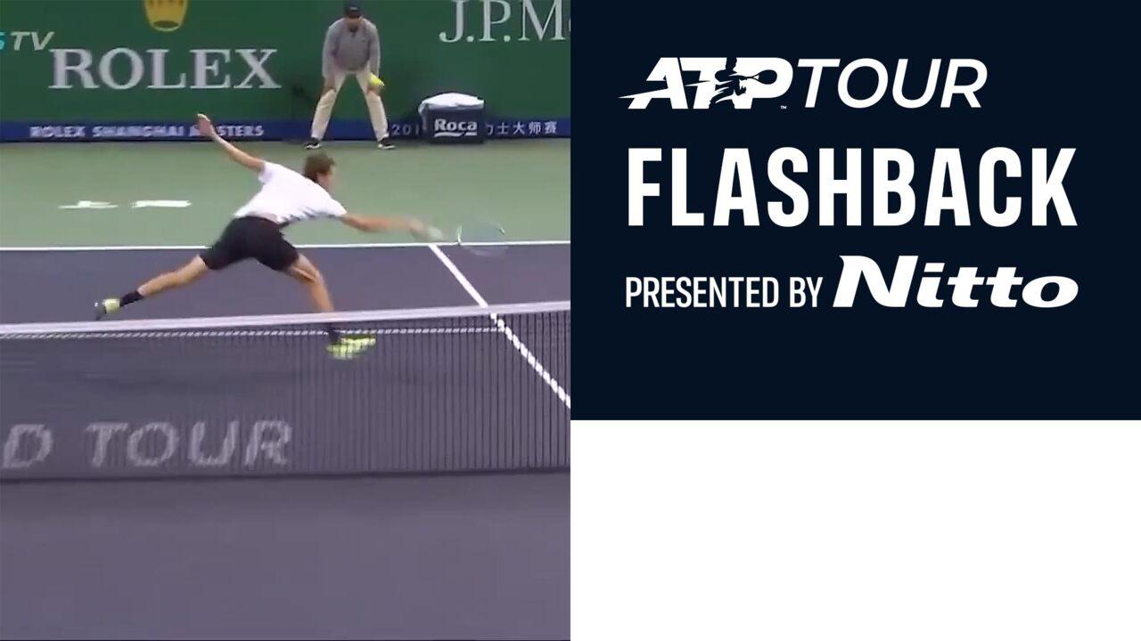 ATP Tour Flashback Presented By Nitto: Medvedev Leaves Federer Stunned In Shanghai