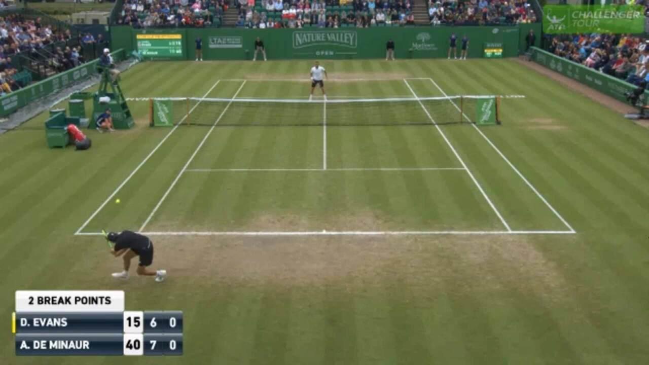 Hot Shot: De Minaur Turns On The Jets In Nottingham Final