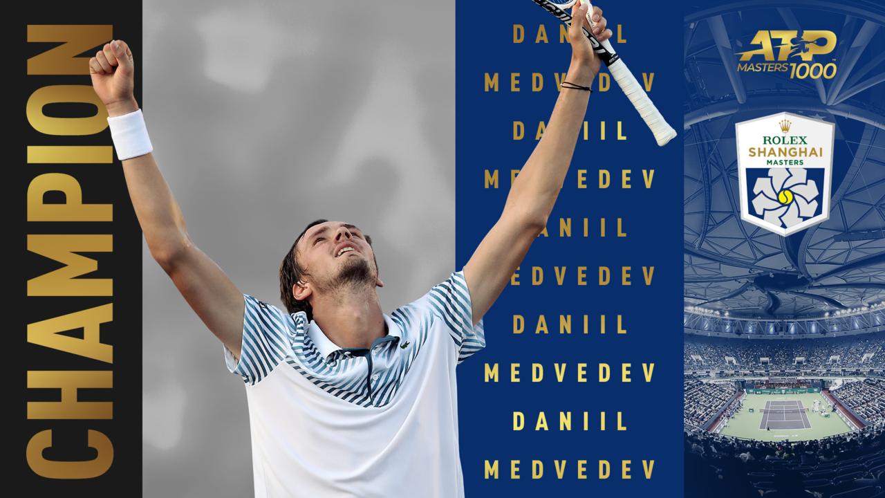 Highlights: Medvedev Masters Shanghai, Defeats Zverev For Title