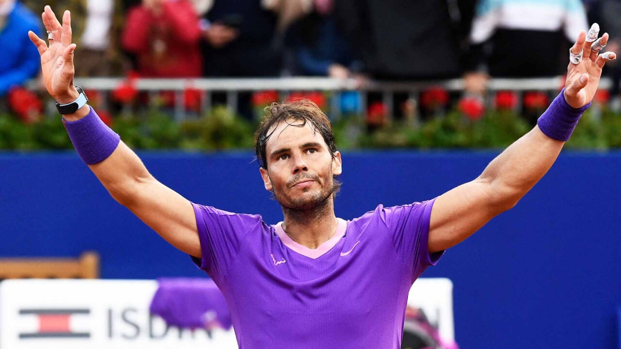 Watch Nadal Clinch 12th Barcelona Title