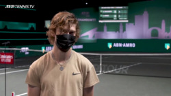 Find Out What Left Rublev Speechless In Rotterdam