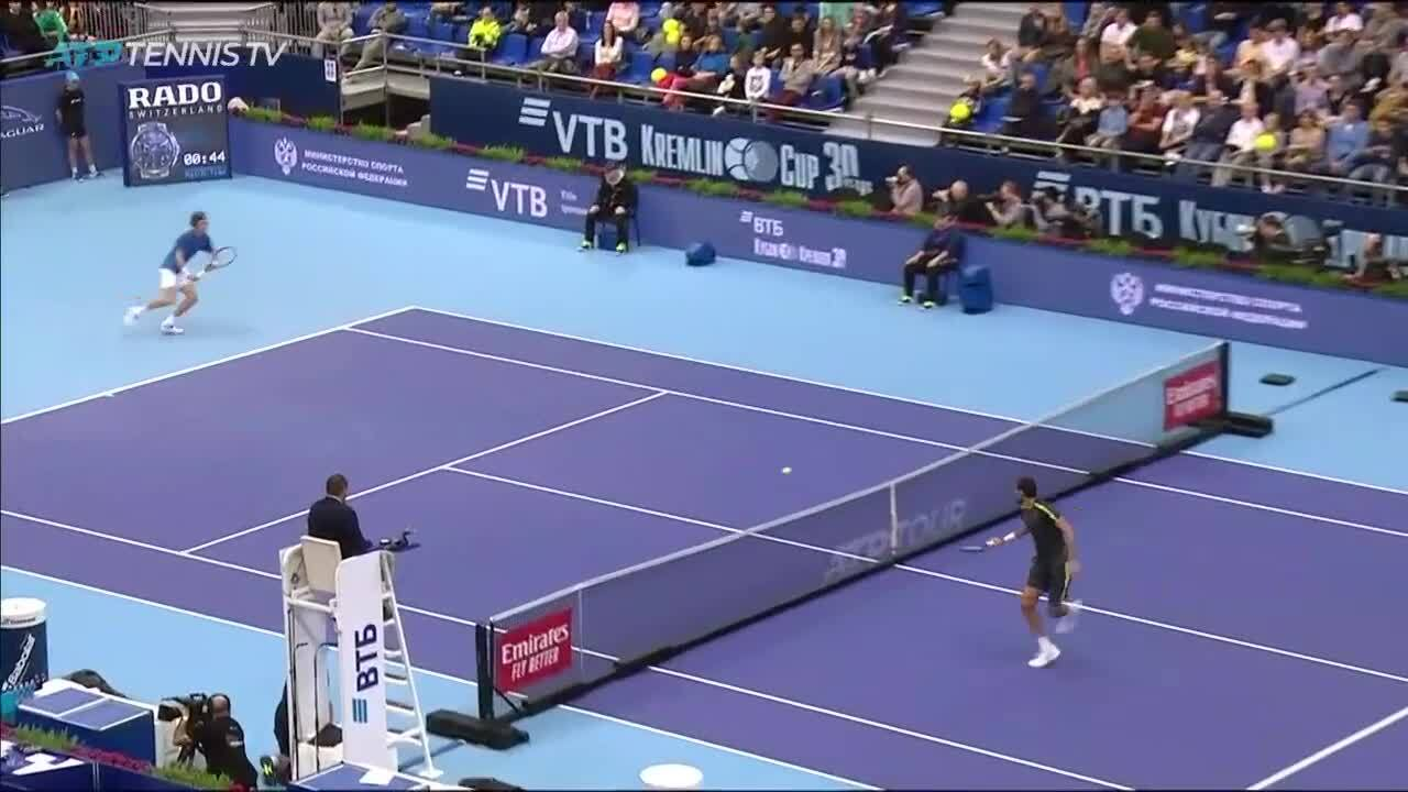 Hot Shot: Rublev Raises The Roof At Moscow 2019