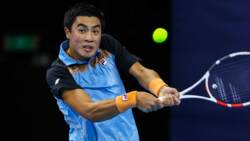 Hot Shot: Nakashima Fires Backhand Down The Line In Antwerp