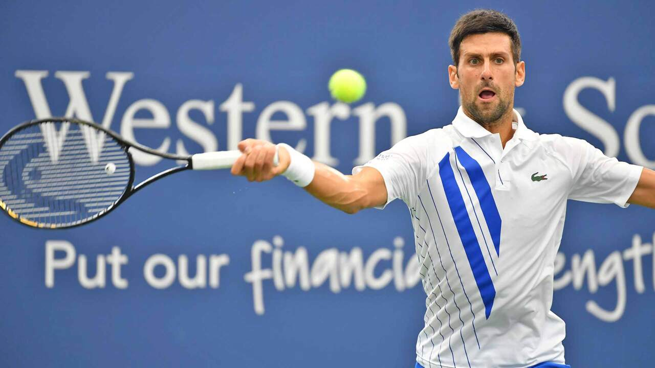 'Oh My Goodness!' Djokovic's Incredible Return In W&S Open Final