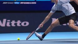 Video Review Verifies Not-Up Call In Zverev-Djokovic Match