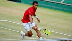Hot Shot: Auger-Aliassime's Brilliant Touch In This Halle Drop Shot