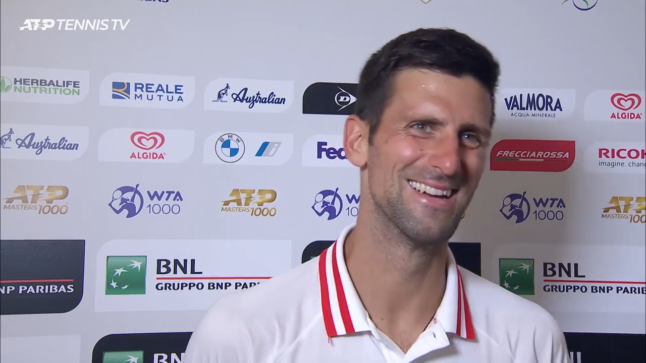 Djokovic: 'One Shot Really Decided The Winner'