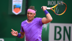 Hot Shot: Nadal Hits Running Passing Shot Winner