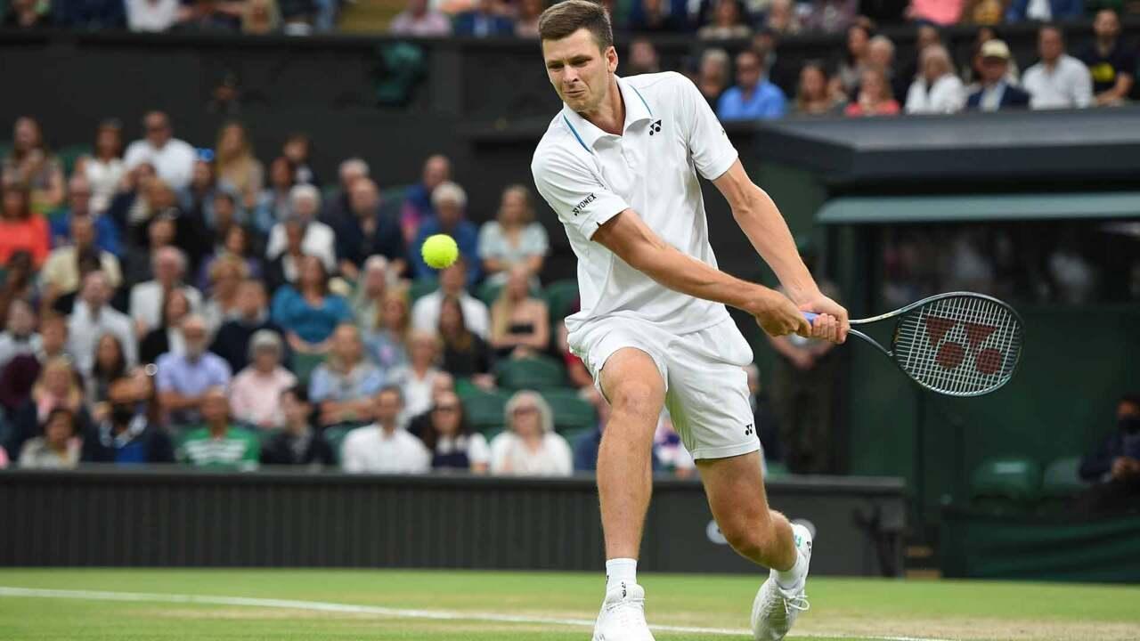 Highlights: Hurkacz Upsets Medvedev, Wimbledon 2021