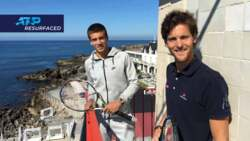 Resurfaced: Coric And Sousa Visit Estoril Lighthouse In 2016