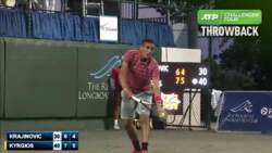 Challenger Throwback: Kyrgios Claims Sarasota Crown In 2014