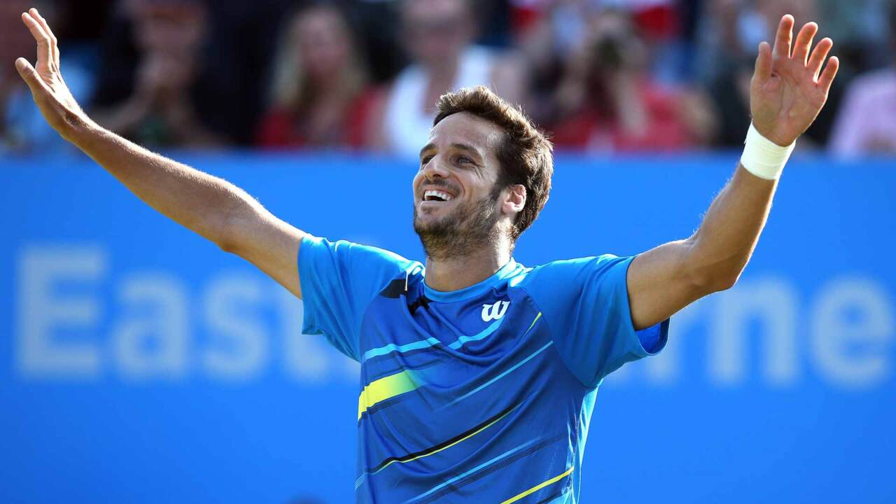 The Best Of Feliciano Lopez In Eastbourne