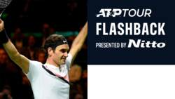 ATP Tour Flashback Presented By Nitto: Federer Seals Sublime Triple In Rotterdam