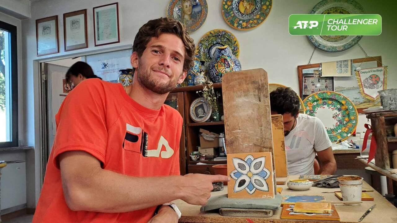 Sousa & Gaio Visit Famous Ceramic Town During Perugia Challenger