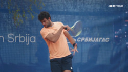 Watch Berrettini Practise In Belgrade
