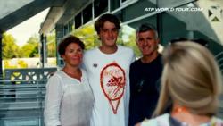 Flashback: Tsitsipas' Success Is A Family Affair