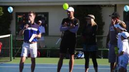 Tarango Y Jugadores ATP World Tour Organizan Un Acto Solidario En Los Angeles 2017