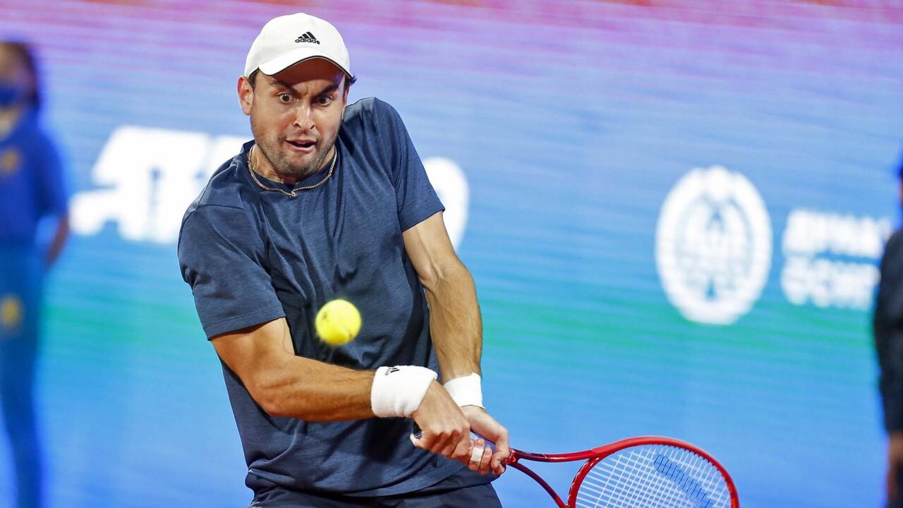 Hot Shot: Karatsev Flicks A Backhand Winner Past Bedene