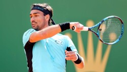 Hot Shot: Fognini Turns Unreal Defence Into Match Point In Monte-Carlo