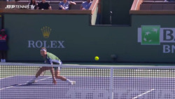Hot Shot: Dimitrov Digs Out To Save Break Point